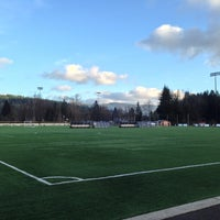 Photo taken at Preston Athletic Fields & Park by D L. on 1/16/2015