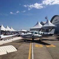 Photo taken at Expo Aero Brasil by Diego P. on 7/14/2013