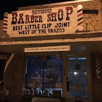 Photo taken at Richmond Barber Shop by Sue S. on 10/13/2017