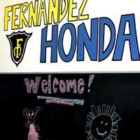 Photo taken at Fernandez Honda by Fernandez Honda on 12/10/2013