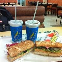 Photo taken at Subway by Taiane L. on 10/23/2012