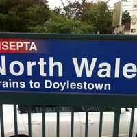 Photo taken at SEPTA North Wales Station by Crick W. on 7/25/2013