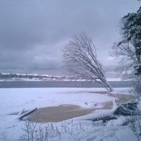 Photo taken at Gaujas ieteka Baltijas juras lici by Kārlis B. on 1/15/2017