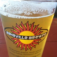 Photo taken at Asheville Brewing Company by Travis W. on 2/28/2013