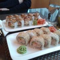 Photo taken at AmiJami Sushi by Viktoria K. on 6/19/2014