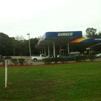Photo taken at Sunoco gas station by Travis Y. on 1/22/2013