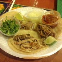 Photo taken at Taqueria La Hacienda by Linda L. on 11/17/2012