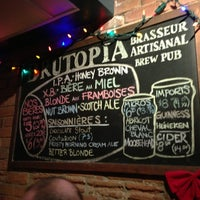 Photo taken at Brutopia by Elijah N. on 12/20/2012