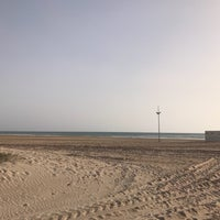 Photo taken at Playa los Bateles by Olga F. on 4/23/2018