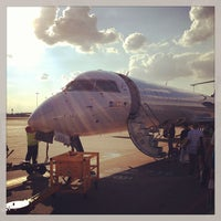 Photo taken at Birmingham Airport (BHX) by Mike C. on 7/26/2013