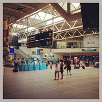 Photo taken at Terminal 4 by Mike C. on 8/6/2013