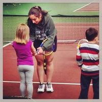 Photo taken at Kronprinsens Tennishall & Tenniscenter by Mike C. on 4/13/2013