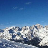 Photo taken at Consorzio Skipass  Paganella by Mattia F. on 1/24/2013