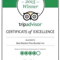 Photo taken at Best Western Plus Boulder Inn by Boulder I. on 5/28/2015