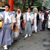 Photo taken at 吉田神社 by qd 2. on 2/3/2013