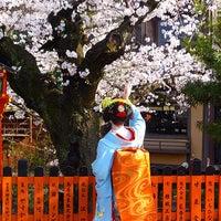 Photo taken at 祇園新橋 by qd 2. on 3/31/2015