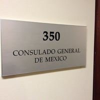 Photo taken at Mexican Consulate by Jorge M. on 11/1/2012