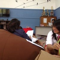 Photo taken at Ruang Bahasa Indonesia SMA 1 PSKD by Christine K. on 1/26/2015