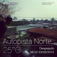 Photo taken at Autopista Norte by Luis G. on 3/23/2014
