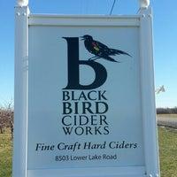 Photo taken at BlackBird Cider Works by Marcus on 1/5/2016