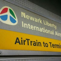 Photo taken at Newark Liberty Airport Station (Amtrak/NJT) by Marcus on 4/4/2016