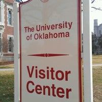 Photo taken at OU Visitor Center by Marcus on 12/8/2012
