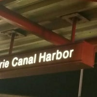 Photo taken at NFTA Metro Rail Erie Canal Harbor Station by Marcus on 1/1/2016