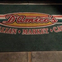 Photo taken at D'amicos Italian Market & Cafe by Marcus on 2/8/2013