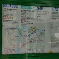 Photo taken at MTA Bus -  LGA Internal Roadway & Terminal B (M60/Q48/Q70/Q72) by Marcus on 2/4/2017