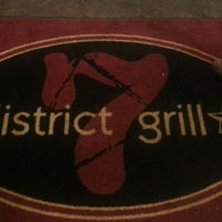 Photo taken at District 7 Grill-Tunnels by Marcus on 5/10/2013