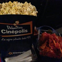 Photo taken at Cinépolis by Cinthya L. on 1/22/2013