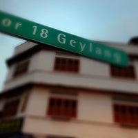 Photo taken at Lorong 18 Geylang by JK on 5/4/2013