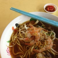 Photo taken at Ah Fu Prawn Noodle by JK on 8/19/2013