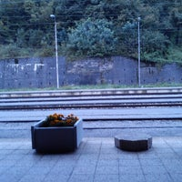 Photo taken at Železniška postaja Kranj by Alen on 9/30/2013