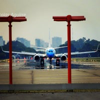 Photo taken at Jorge Newbery Airfield (AEP) by Nicolas A. on 4/15/2013