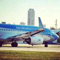 Photo taken at Jorge Newbery Airfield (AEP) by Nicolas A. on 5/20/2013