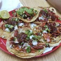 Photo taken at Tacos El Quiosco by Vania A. on 4/21/2013