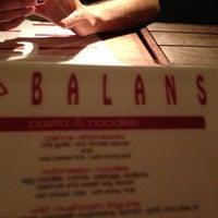 Photo taken at Balans Restaurant & Bar, Biscayne by Aylen G. on 11/11/2012