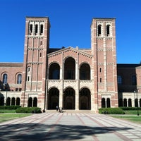 Photo taken at UCLA Powell Library by Sarah A. on 9/29/2013