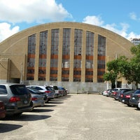 Photo taken at The Armory (Old Lakers Stadium) by Ken J. on 7/15/2014