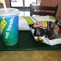 Photo taken at Subway by Lionel D. on 10/22/2012