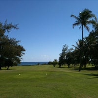 Photo taken at Wailua Golf Course by Nobuama S. on 11/1/2012