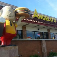 Photo taken at Angelo's Burgers by T¡mm!E on 1/3/2014