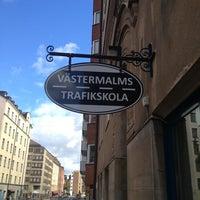 Photo taken at Västermalms Trafikskola by Sören A. on 6/17/2013