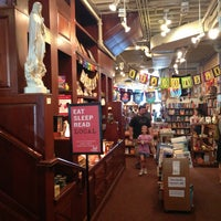 Photo taken at Crazy Wisdom Bookstore & Tea Room by Andy C. on 7/13/2013