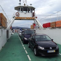 Photo taken at Ferry A Guarda by Pedro A. on 9/26/2013