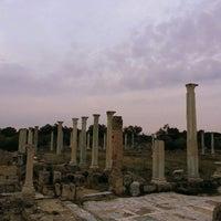 Photo taken at Salamis Ruins by Sanem Ceren Y. on 5/17/2013