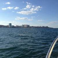 Photo taken at Black Sea by Julia V. on 8/4/2013