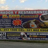Photo taken at Parador Y Restaurante El Faro by Juan J. on 7/7/2013