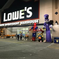 Photo taken at Lowe's Home Improvement by Kevin H. on 10/24/2017